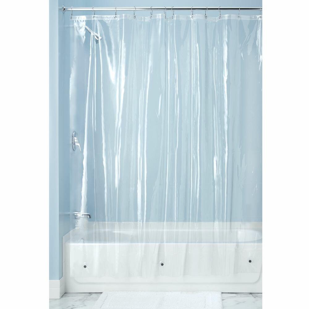 InterDesign Raina Shower Curtain Liner & Reviews   Wayfair