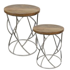 Werner 2 Piece Nesting Tables by Brayden Studio