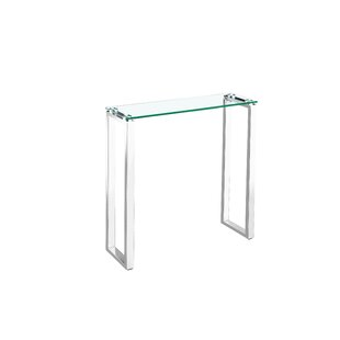 Waterfall Glass Console Table  aad3b33a719c