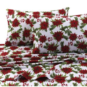 Christmas Joy 100% Cotton Sheet Set