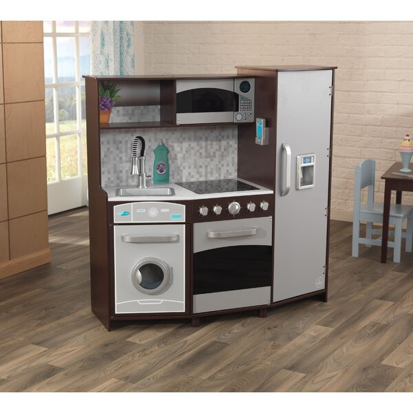 Kitchen Accessories Walmart: KidKraft Large Play Kitchen Set & Reviews