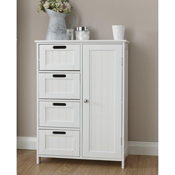 Wayfair Free Standing Kitchen Cabinets: Wayfair Basics Hampton 55x82cm Freestanding Cabinet