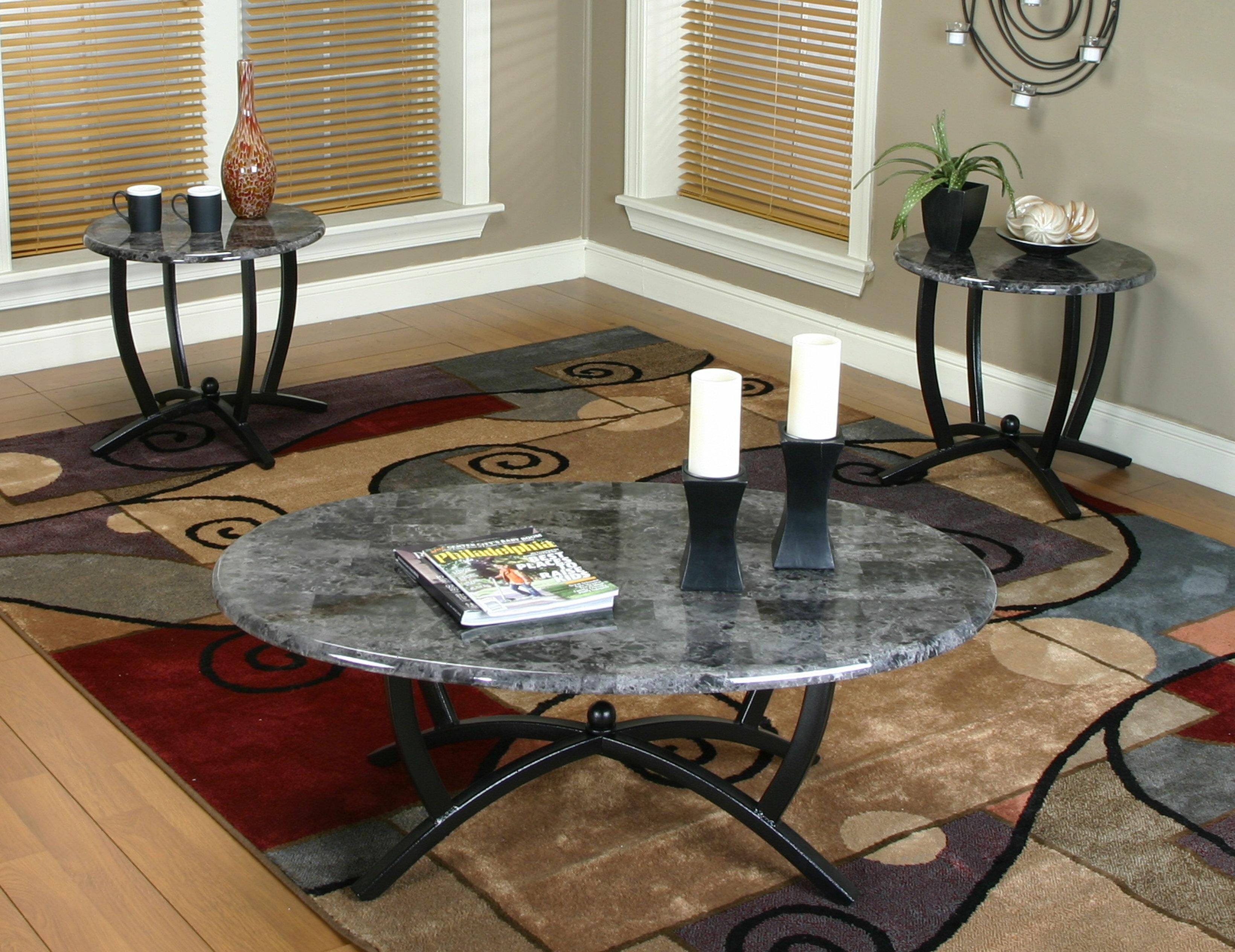 Latitude Run Jacob 3 Piece Coffee Table Set & Reviews