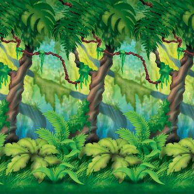 Jungle Safari Nursery And Bedroom Wall Decal