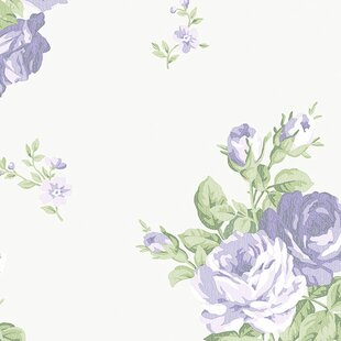 large floral print wallpaper wayfair