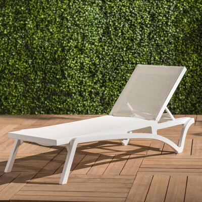 Cushionless Single Chaise Outdoor Chaise Amp Lounge Chairs
