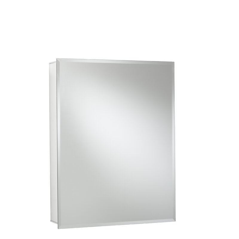 24 Quot X 30 Quot Recessed Or Surface Mount Frameless Medicine Cabinet With 2 Adjustable Shelves