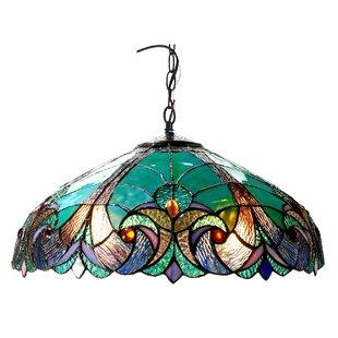 Tiffany pendants youll love wayfair laurie 2 light ceiling bowl pendant aloadofball Gallery