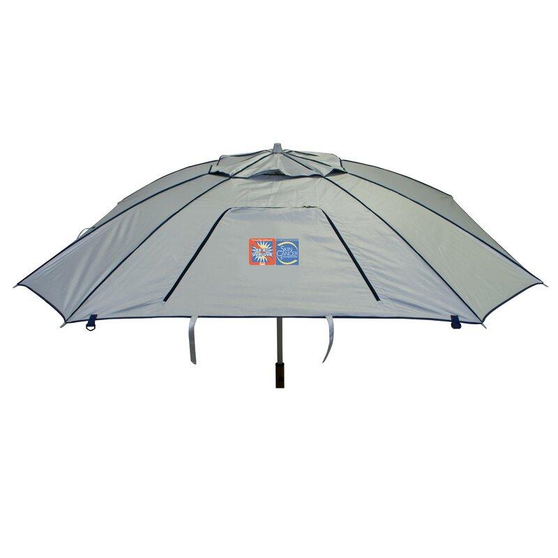 Total Sun Block Extreme Shade 8 Ft Beach Umbrella