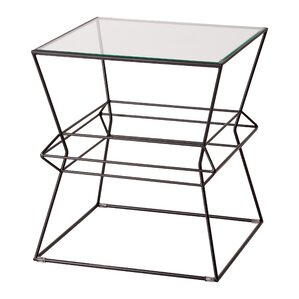 Lexie Square Vector Metal Table by Brayden S..