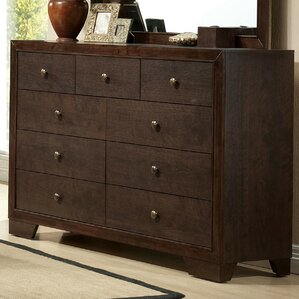 Madison 9 Drawer Double Dresser by ACME Furniture