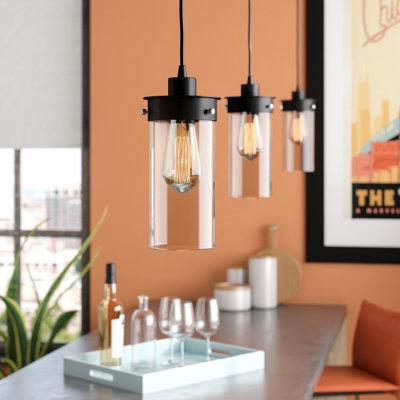 kitchen island lighting you 39 ll love wayfair. Black Bedroom Furniture Sets. Home Design Ideas