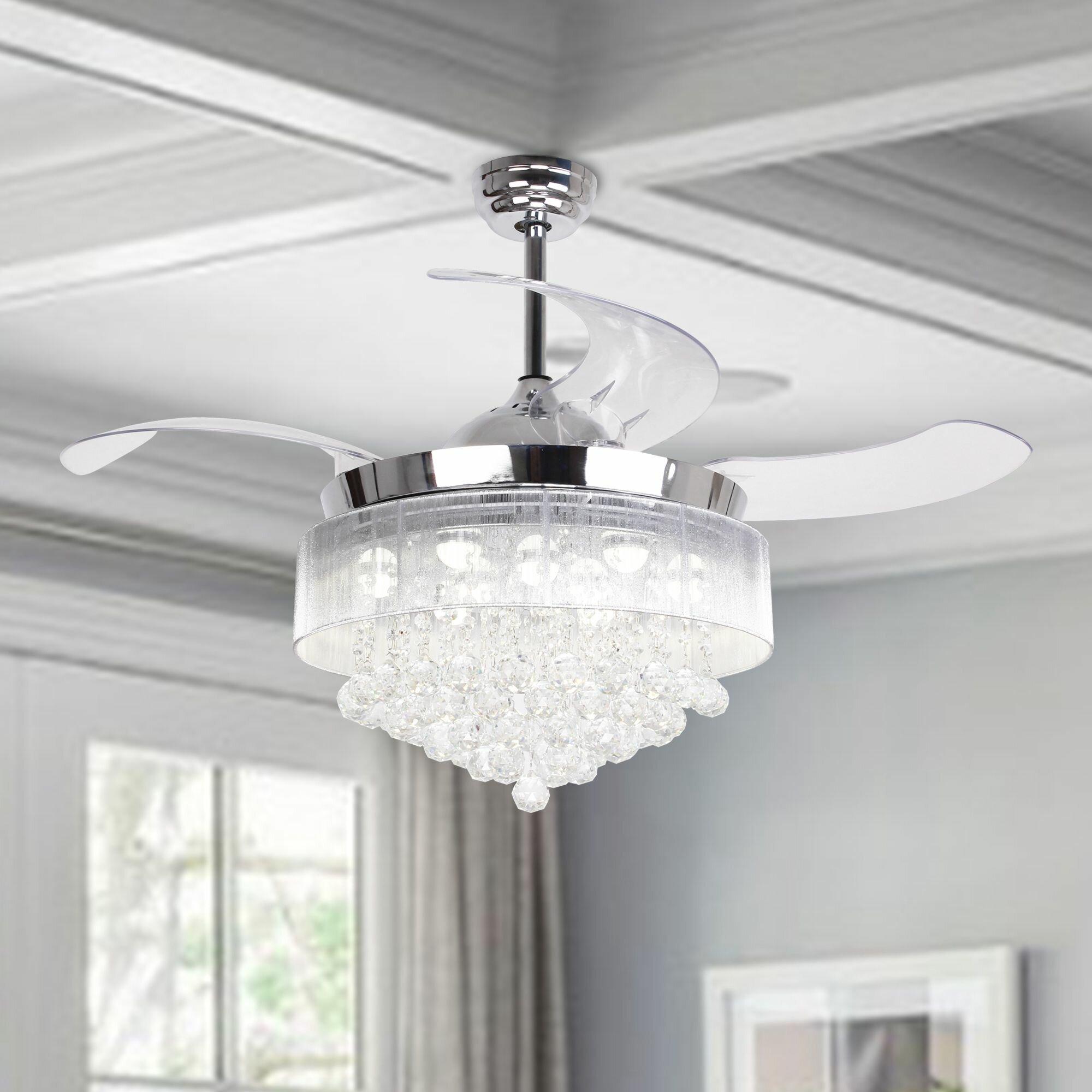 42 5 broxburne 4 blade led ceiling fan with remote