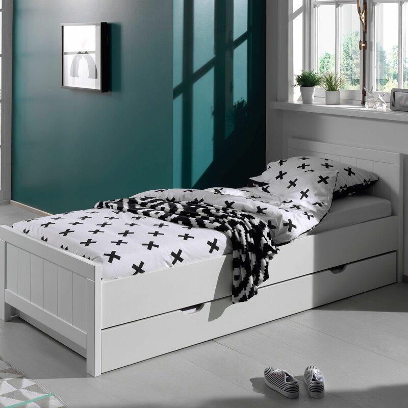 vipack bettgestell erik mit stauraum 90 x 200 cm bewertungen. Black Bedroom Furniture Sets. Home Design Ideas