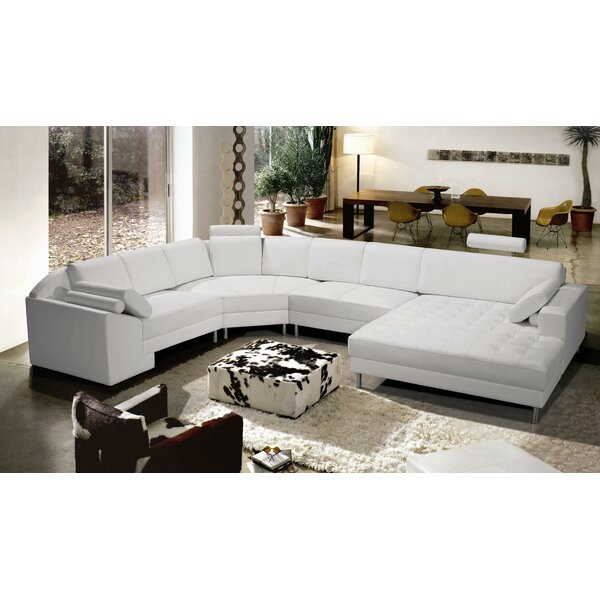 Hokku Designs Vacaville Sectional U0026 Reviews | Wayfair