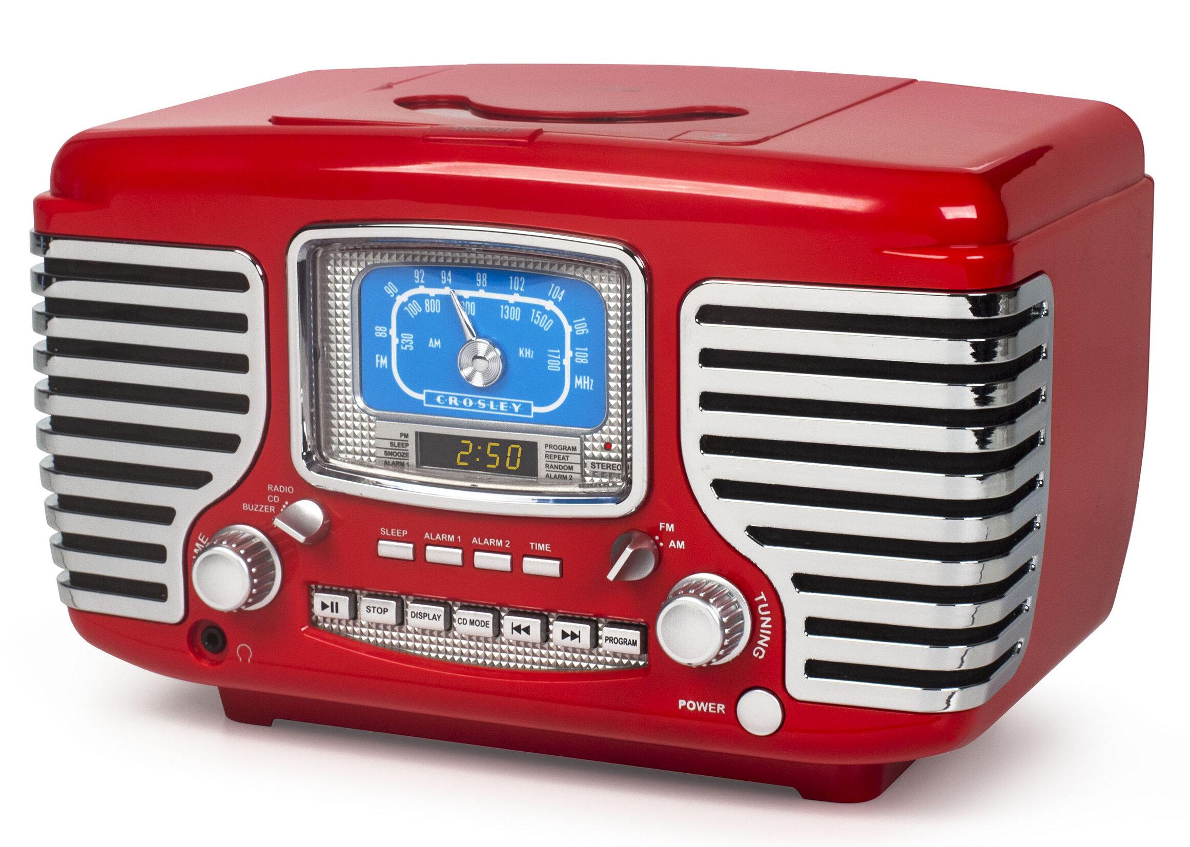 Crosley Cd Player And Radio | Wayfair