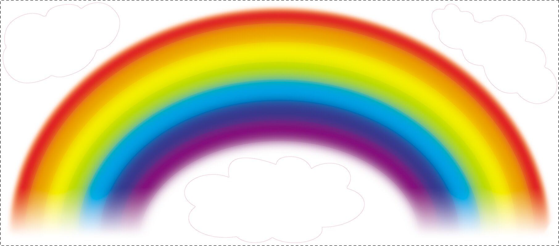 Ordinaire Room Mates Deco Over The Rainbow Wall Decal