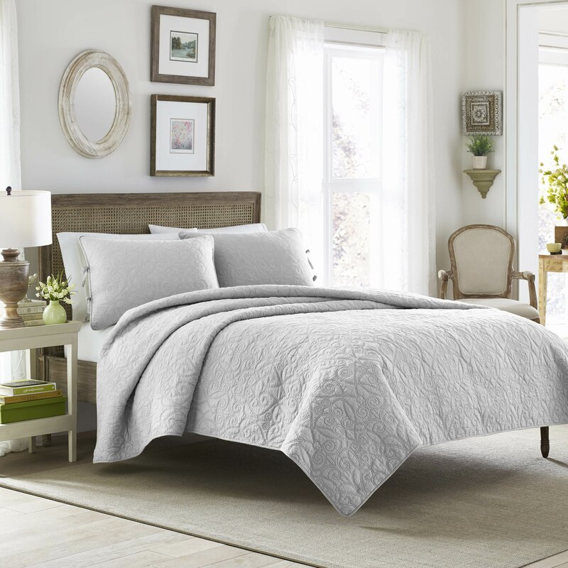 Felicity Quilt Set by Laura Ashley Home. Laura Ashley Home Felicity Quilt Set by Laura Ashley Home