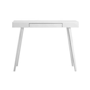 Gloss White Desk Small Wall Mounted Desk