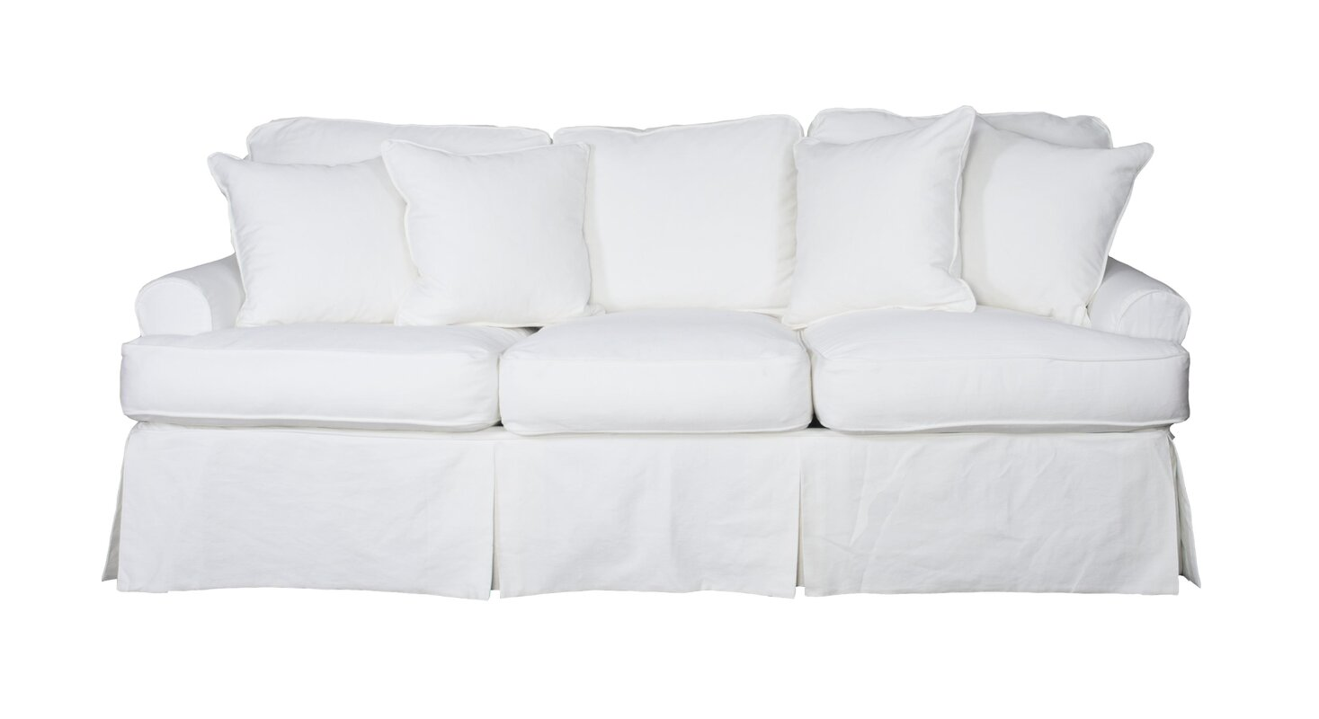 Zippered Couch Cushion Covers