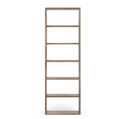 Kitsco Pombal 88 H Shelving Unit Starter Finish: Walnut, Size: 88 H x 29 W x 13 D