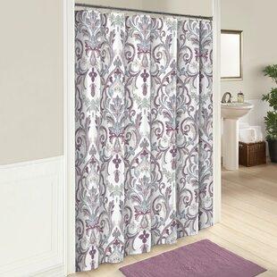 Jaziel Cotton Shower Curtain