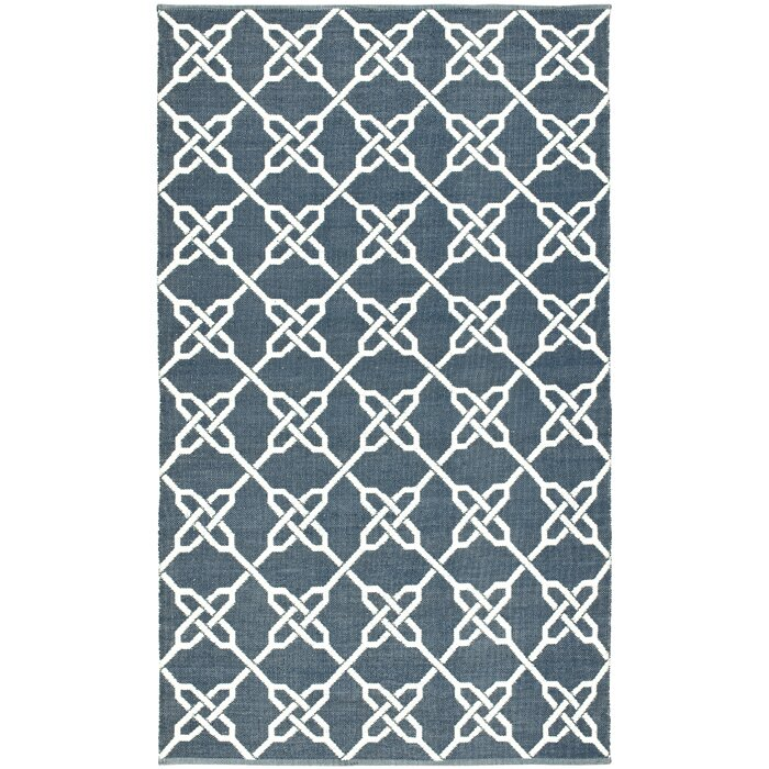 thom filicia tioga handwoven bluebeige area rug