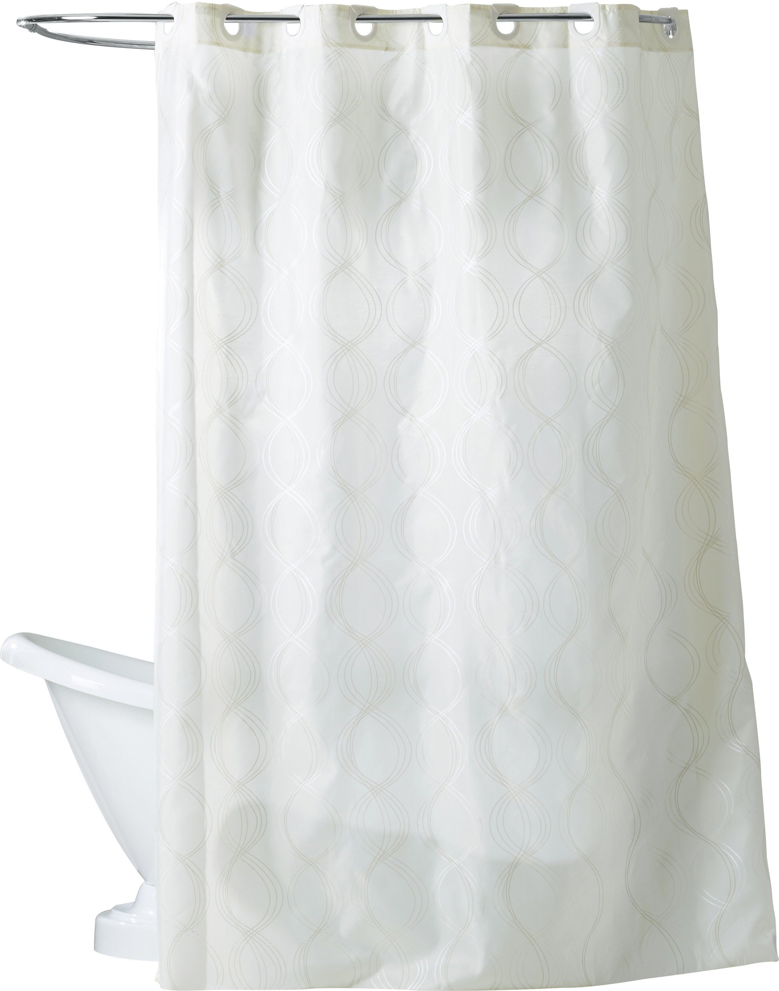 Debrah Ivory Single Shower Curtain Reviews