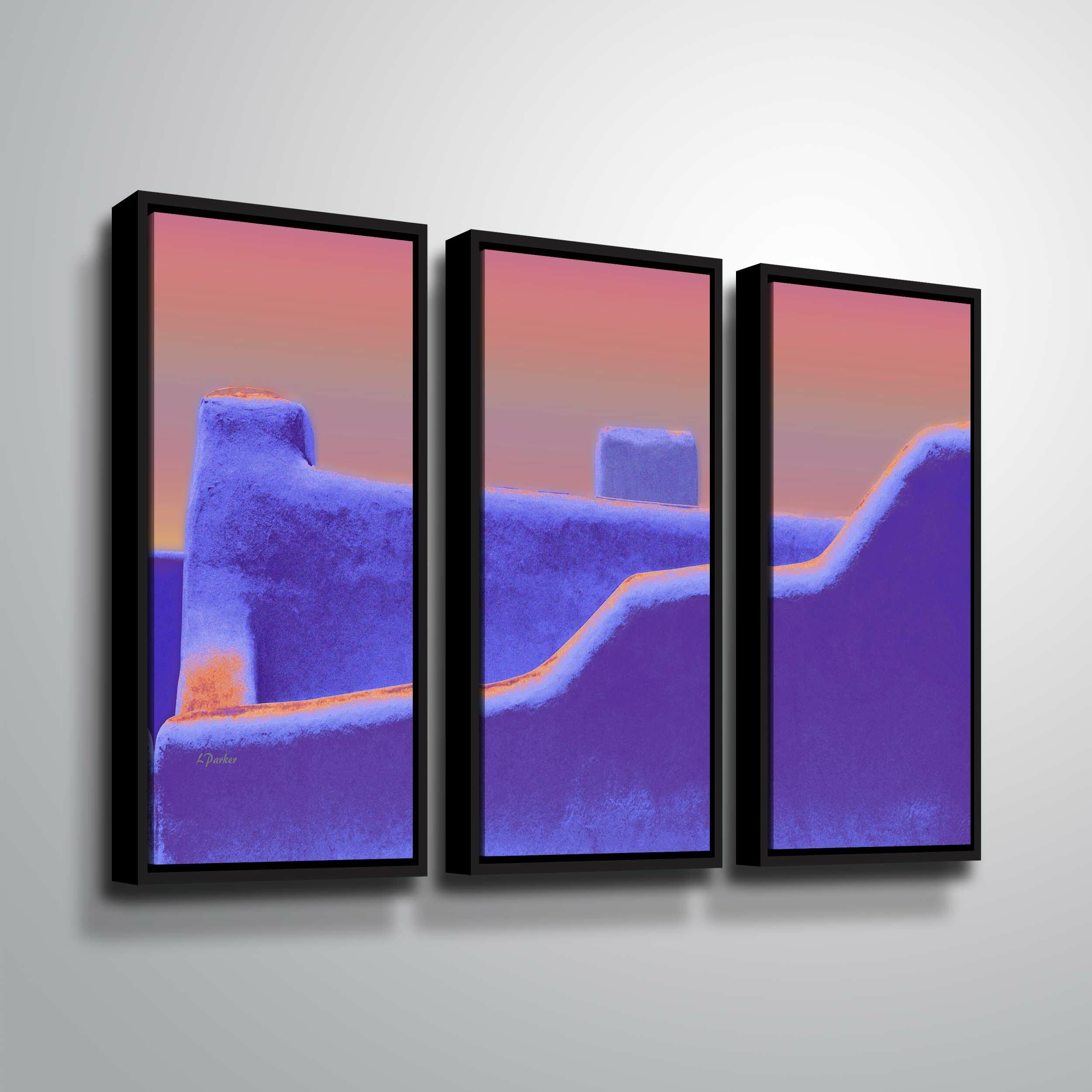 Canvas Santa Fe >> Santa Fe Adobe Ii Graphic Art Print Multi Piece Image On Canvas