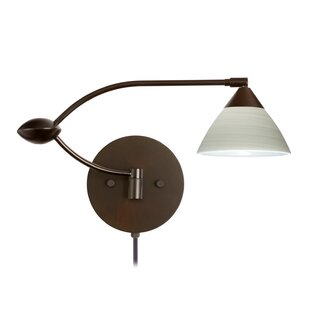 double swing arm wall light plug quickview double swing arm wall sconce wayfair