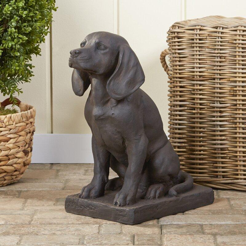 dog garden statue. Loyal Dog Garden Statue G