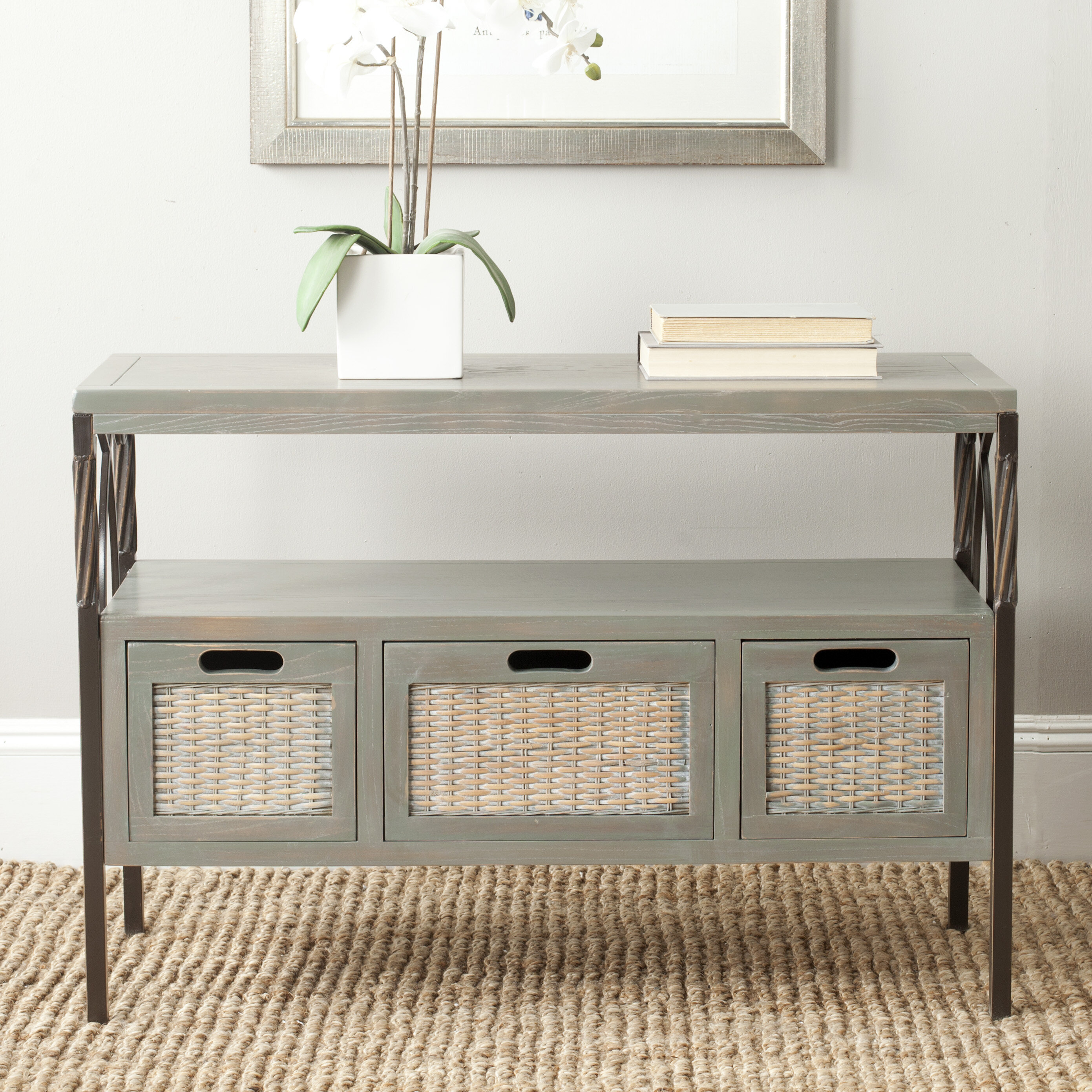 Ellie Solid Wood Console Table