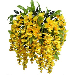 Yellow artificial flowers youll love wayfair save to idea board mightylinksfo Gallery