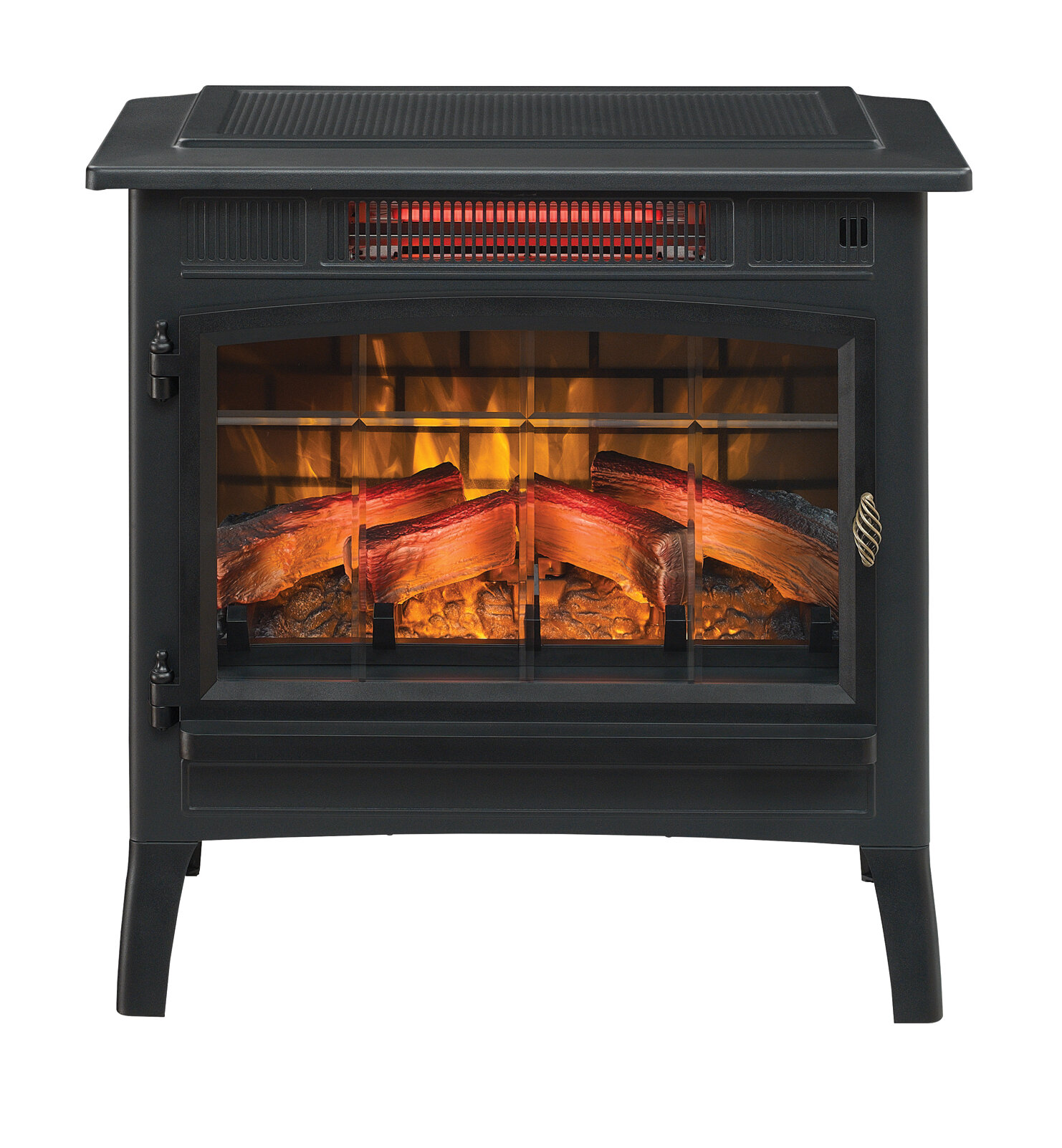 electric potbelly stoves wayfair rh wayfair com Sheffield This Dimplex Electric Stove Sears Electric Pot Belly Stove