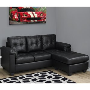 Monarch Specialties Inc. 3 Seater Lounger Sofa