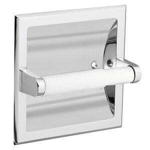 stainless steel recessed fixtures toilet paper holder