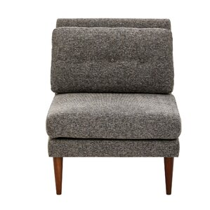 Auburn Armless Slipper Chair by INK+IVY