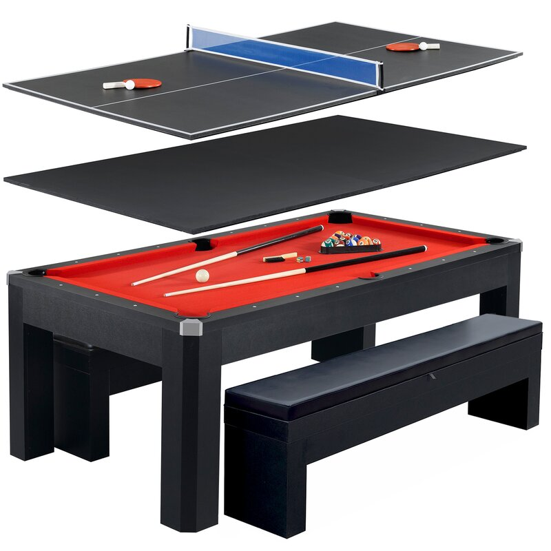 Lovely Park Avenue 10 Piece 7u0027 Pool Table Combo Set