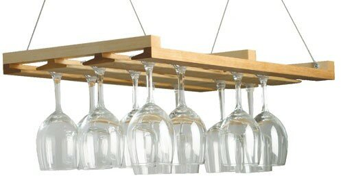 Jk Adams Wine Stemware Hanging Wine Bottle Rack Reviews Wayfair
