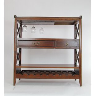 Clement Console Table With Wine Rack