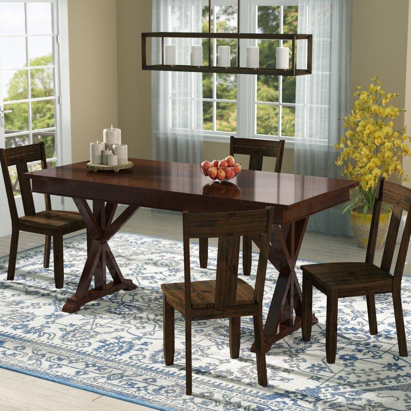 Rockton Extendable Dining Table Birch Lane