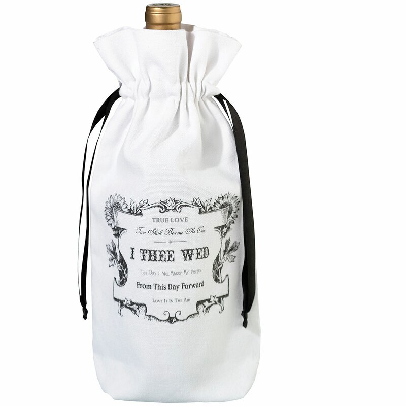 True Love Wine Bag