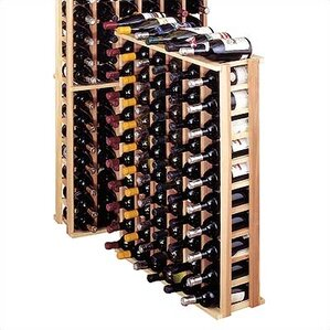 Country Pine 66 Bottle Floor Wine Rack by Wine Cellar Innovations