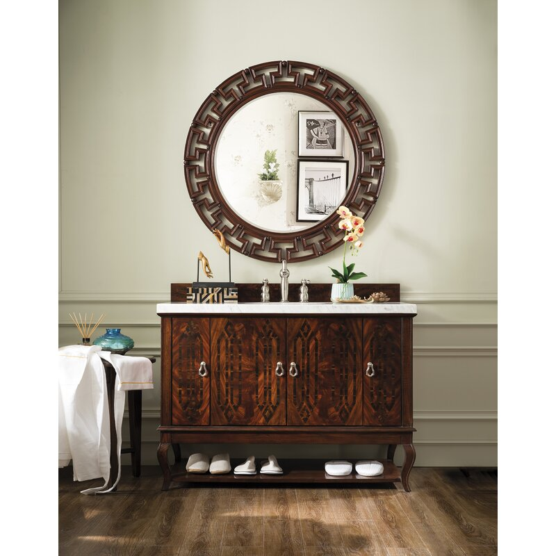 James Martin Furniture Palm Beach 48 Single Dark Amber Bathroom