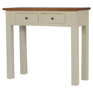 Braes Ridge 2 Toned Narrow Console Table