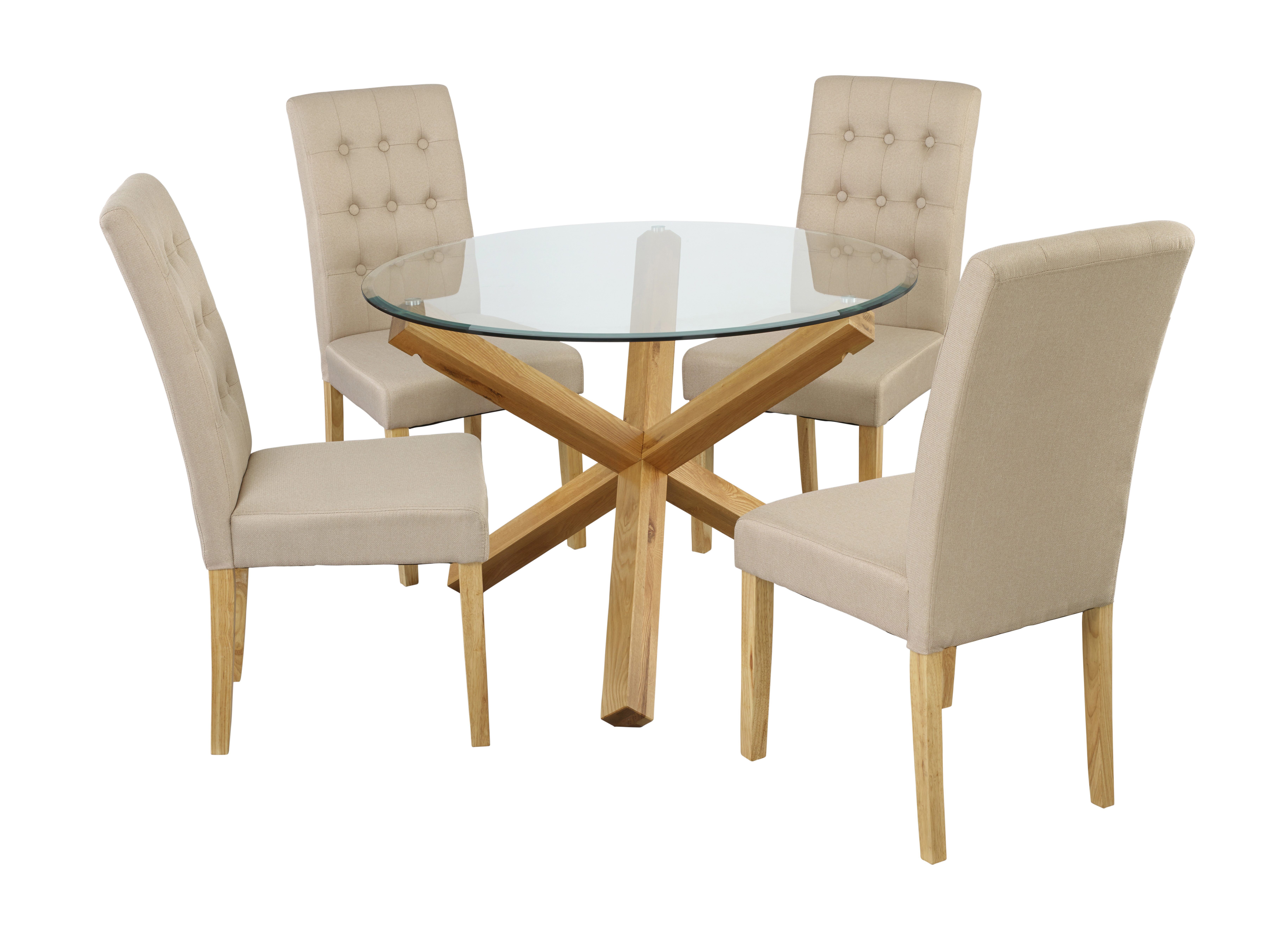 Riley Ave. Oporto Dining Table with 4 Chairs & Reviews | Wayfair.co.uk
