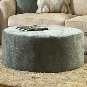Round Tufted Ottoman by Sage A..