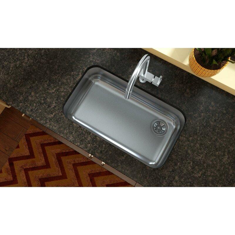 30 5   x 18 25   undermount kitchen sink elkay 30 5   x 18 25   undermount kitchen sink  u0026 reviews   wayfair  rh   wayfair com