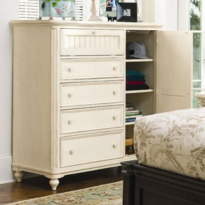 Steel Magnolia 4 Drawer Gentleman's Chest by Paula Deen Home