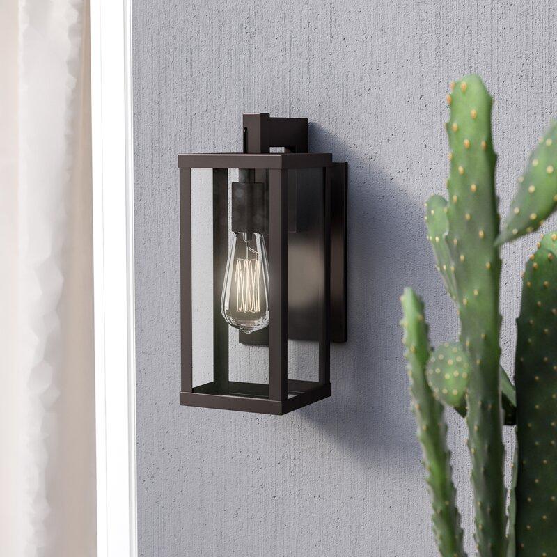 Wall Sconces Next To Tv: Trent Austin Design Helena 1-Light Outdoor Wall Lantern